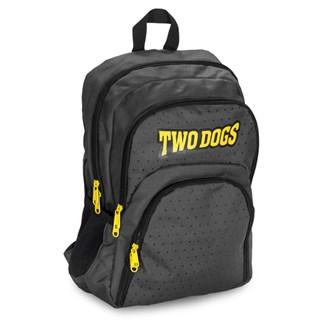 Mochila Two Dogs 20L Casual Com USB e P2 Cinza