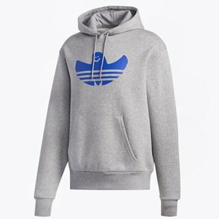 Moletom Canguru Adidas Graphic Shmoo Cinza