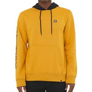 Moletom Canguru DC Doxford Amarelo Escuro e Preto