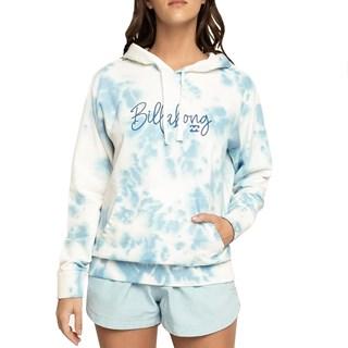 Moletom Canguru Feminino Billabong Surf Vibe Azul