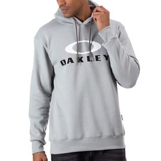 Moletom Canguru Oakley Dual Pullover Stone Gray