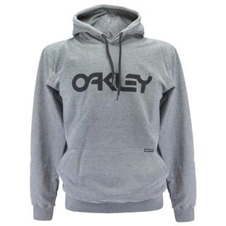 Moletom Canguru Oakley MODB1B Cinza