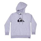 Moletom Canguru Quiksilver Big Logo Hood Boys Cinza