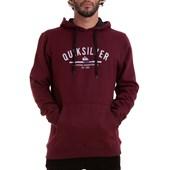 Moletom Canguru Quiksilver Simple Colour Hood Vinho