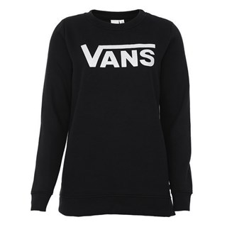 Moletom Careca Feminino Vans Flying V Preto