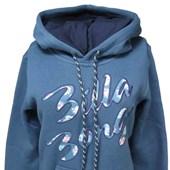 Moletom Feminino Billabong Cool Azul