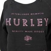Moletom Feminino Hurley Preto 736600