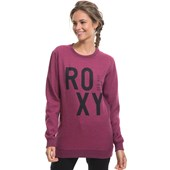 Moletom Feminino Roxy Read To Start Rosa