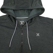 Moletom Hurley Nike Dri-Fit Preto/Cinza