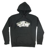 Moletom Vans Preto Fleece Logo