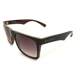 Óculos de Sol Evoke 22 WD01 Black Shine Wood Gold