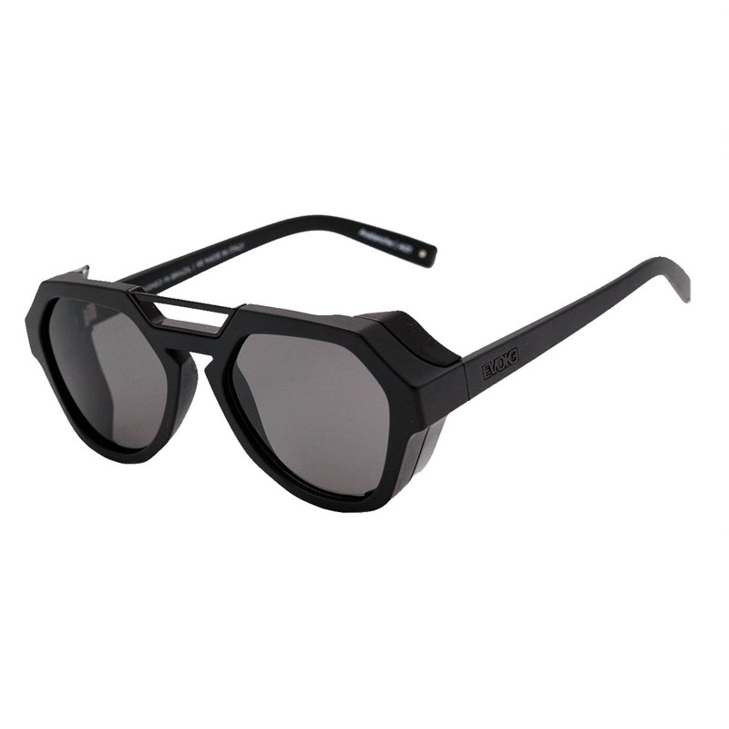 b4654d2b1 Óculos de Sol Evoke Avalanche A01 Black Matte Gray Total - BackWash