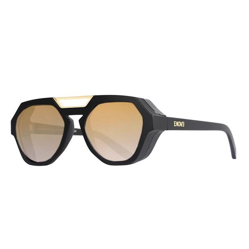 Óculos de Sol Evoke Avalanche A11S Black Matte Light Gold