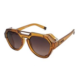 Óculos De Sol Evoke Avalanche Crystal Ambar Caramelo