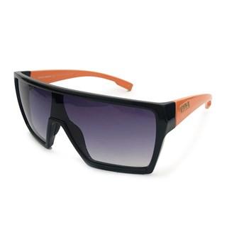 Óculos de Sol Evoke Bionic Alfa A08 Preto e Laranja