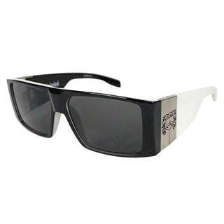 Óculos de Sol Evoke Bomber Black Temple Silver
