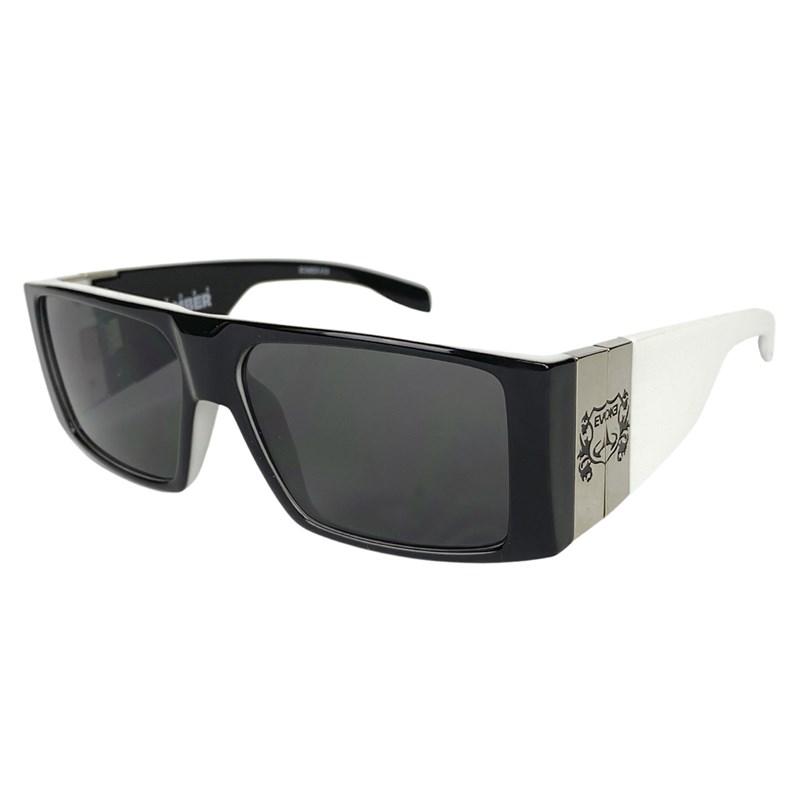 406e5093fab3c Compre Óculos de Sol Evoke Bomber Black Temple Silver na Back Wash!
