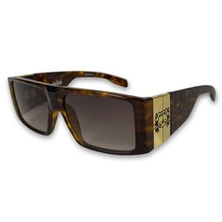 Óculos de Sol Evoke Bomber G22 Turtle Gold Brown
