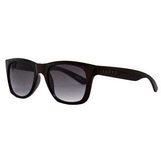 Óculos de Sol Evoke Diamond 1 A01G Black Shine Gray Gradient