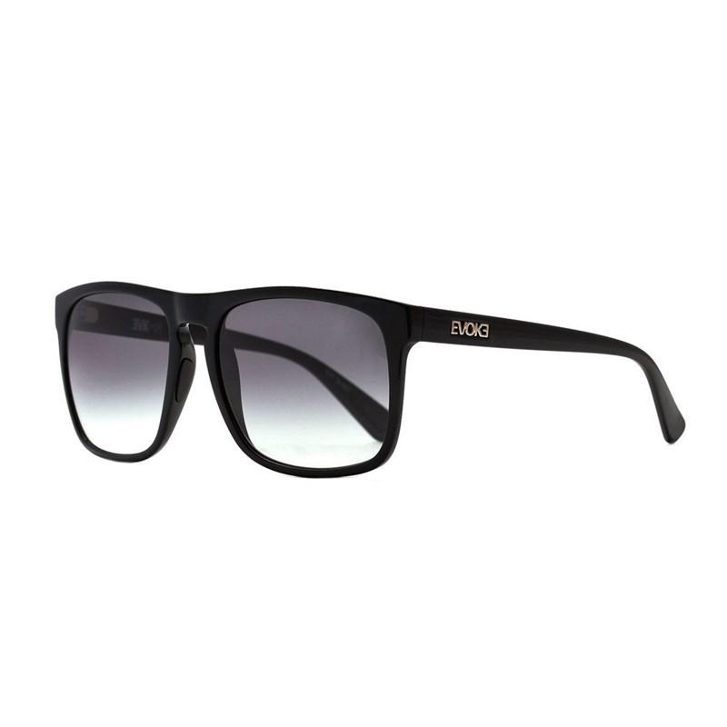 739771fa0 Óculos de Sol Evoke Evk 18 A01 Black Shine / Gray Degradê - BackWash