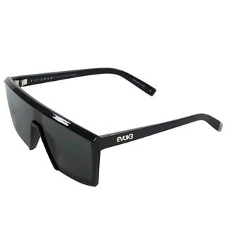 Óculos de Sol Evoke Futurah A05 Black Shine Preto