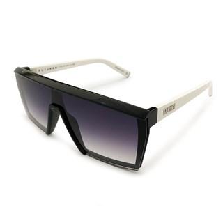 Óculos de Sol Evoke Futurah A10T Black Shine White Silver