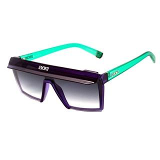 Óculos de Sol Evoke Futurah T07 Purple Turquoise Silver Gradient
