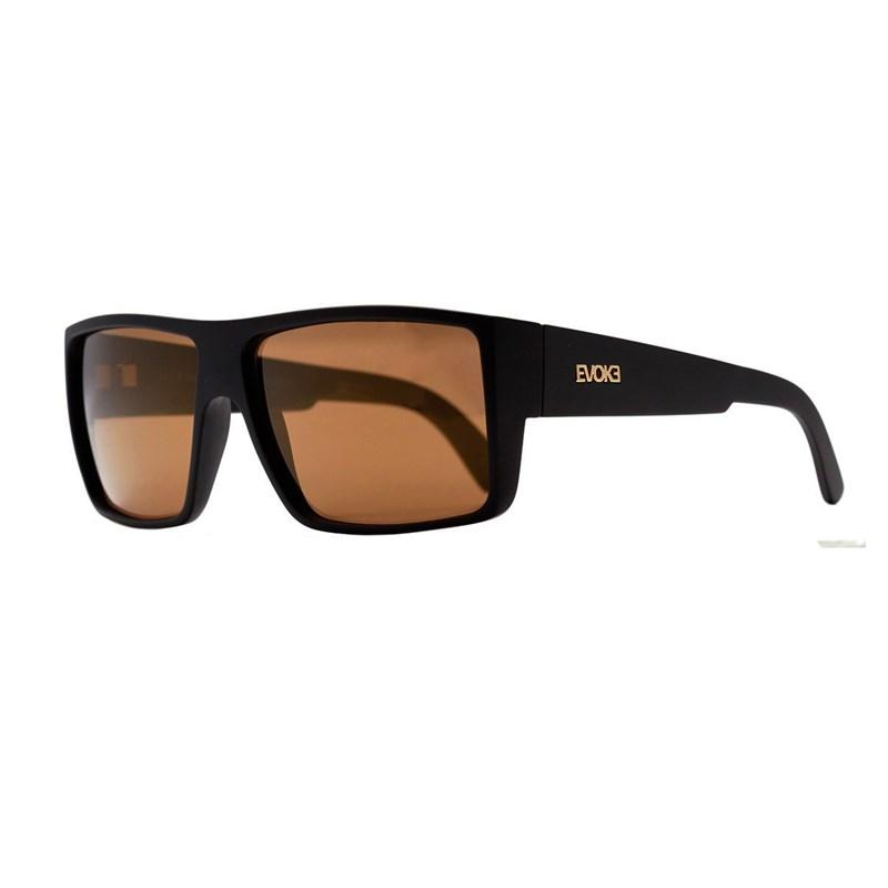 6637e3c6a0aff Óculos de Sol Evoke The Code A13T Black Matte   Gold Espelhado ...