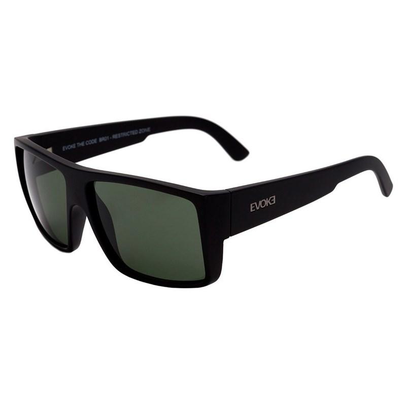 a4ed22747b575 Óculos de Sol Evoke The Code BR01 Black Matte   G15 - BackWash