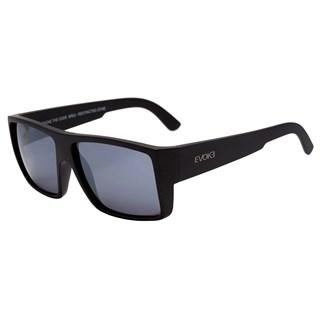 Óculos de Sol Evoke The Code BR02 Black Matte Silver Mirror Matte