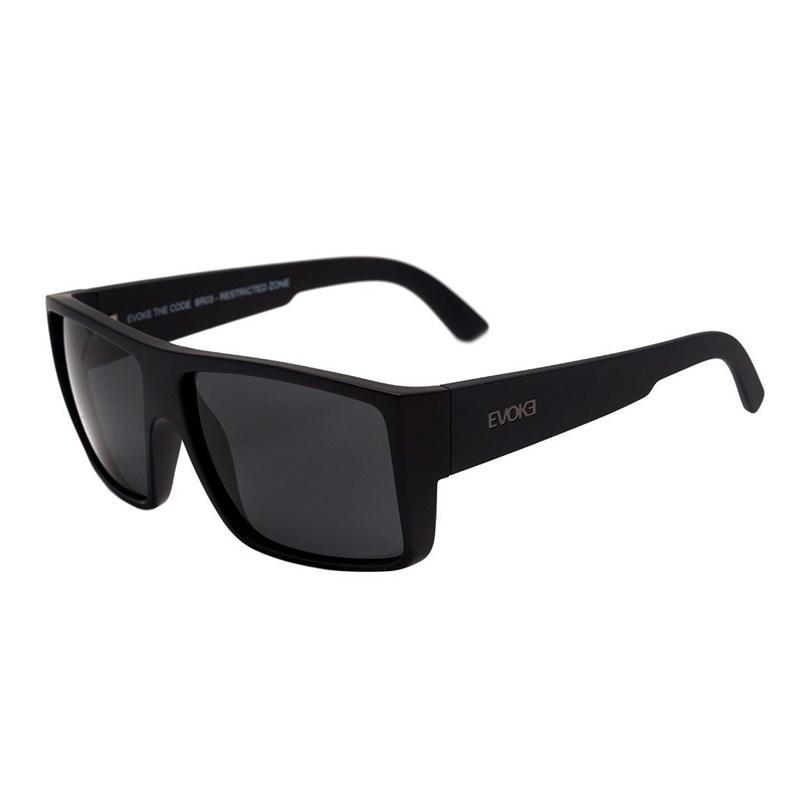 19d99bcaa4c20 Óculos de Sol Evoke The Code BR03 Black Matte Grafiti   Gray - BackWash