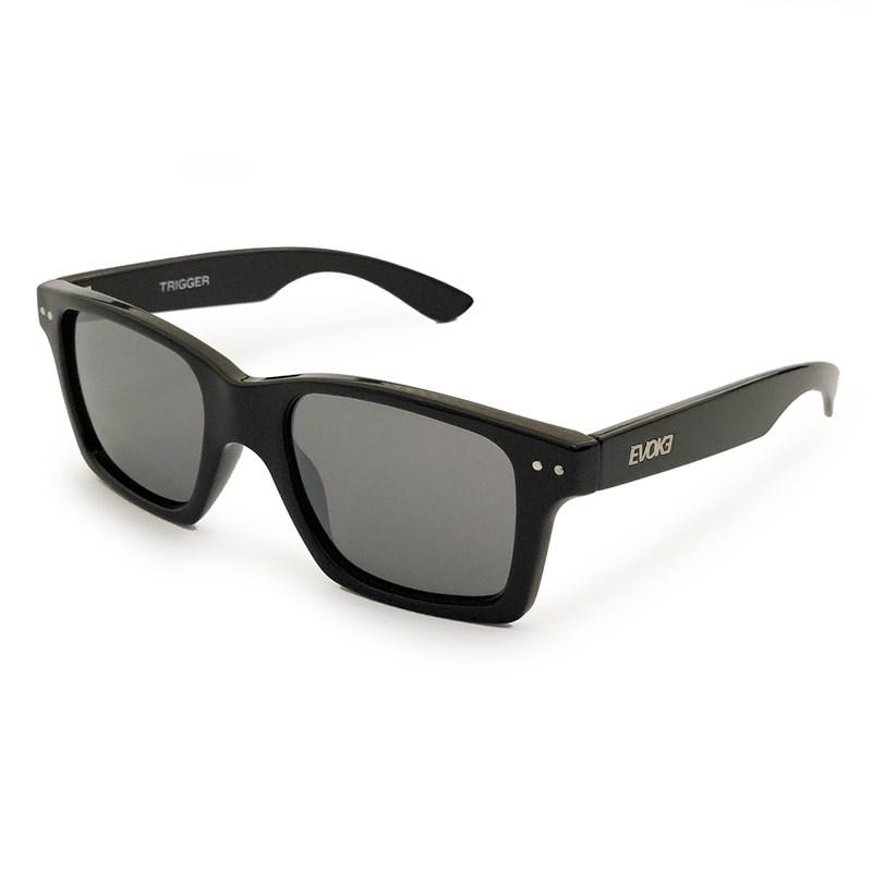 Óculos de Sol Evoke Trigger A04S Black Shine