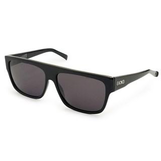 Óculos de Sol Evoke Zegon Big Black Shine Silver Gray