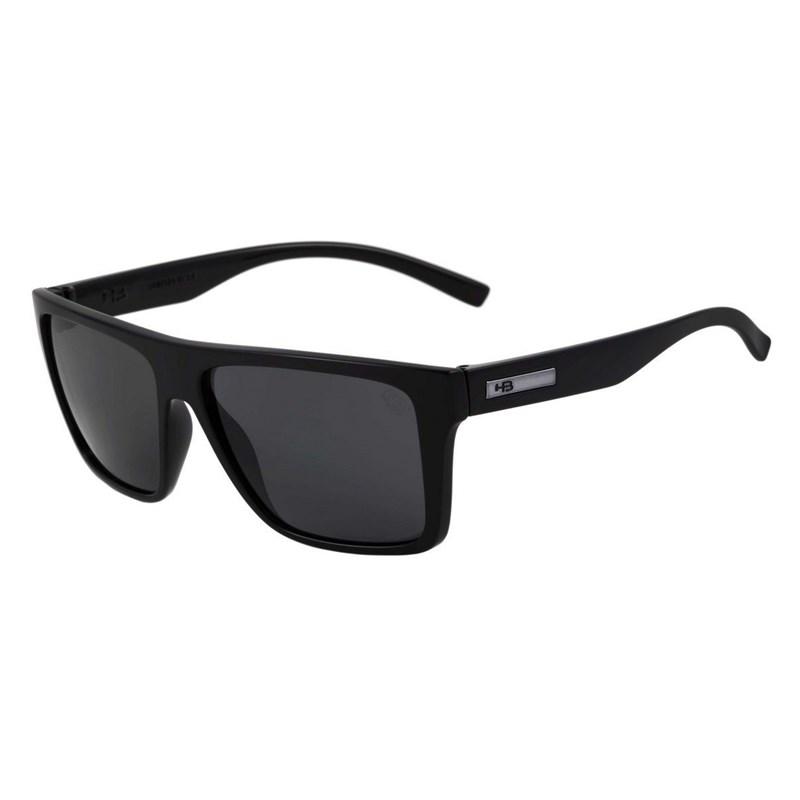 42ffddde0 Óculos de Sol HB Floyd Gloss Black Grey Polarized - BackWash