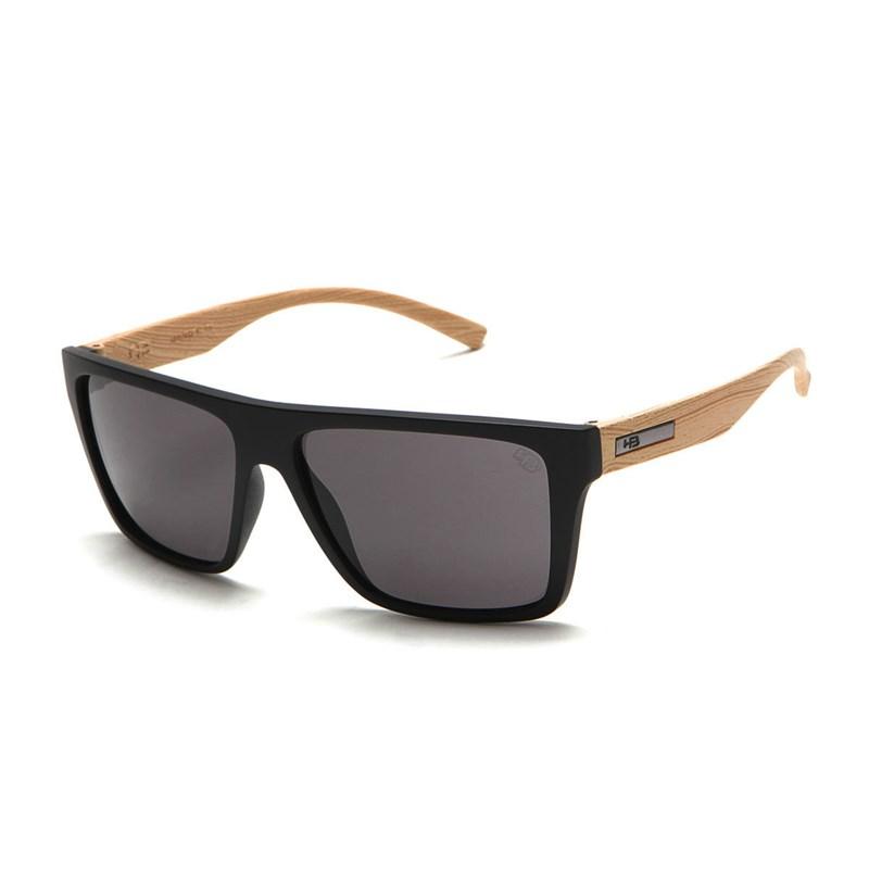 d906f1b3c Óculos de Sol HB Floyd Matte Black Wood / Gray - BackWash