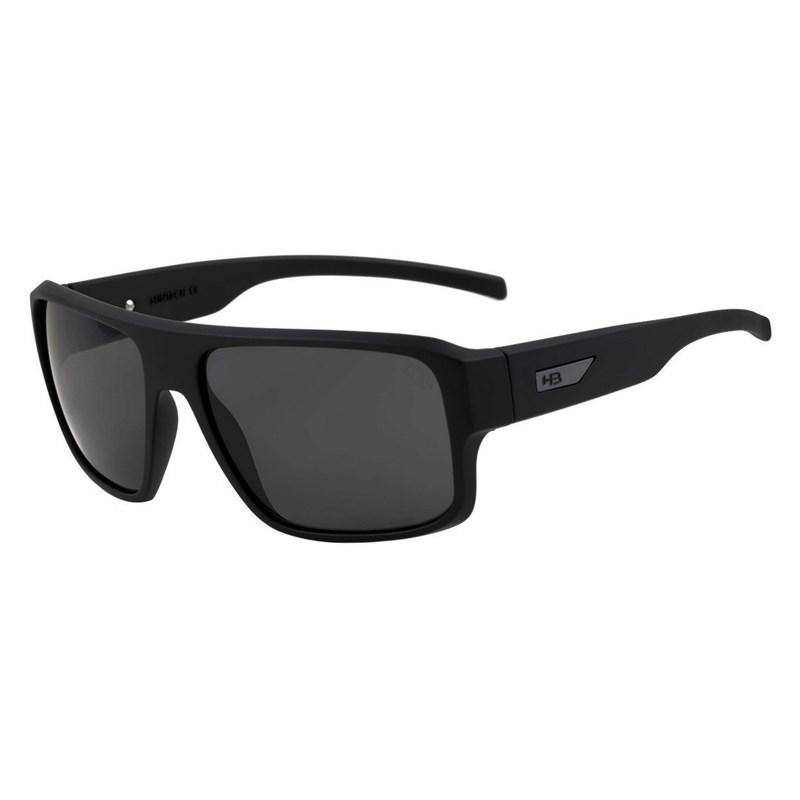 87117fe62 Óculos de Sol HB Redback Matte Black / Polarized Gray - BackWash