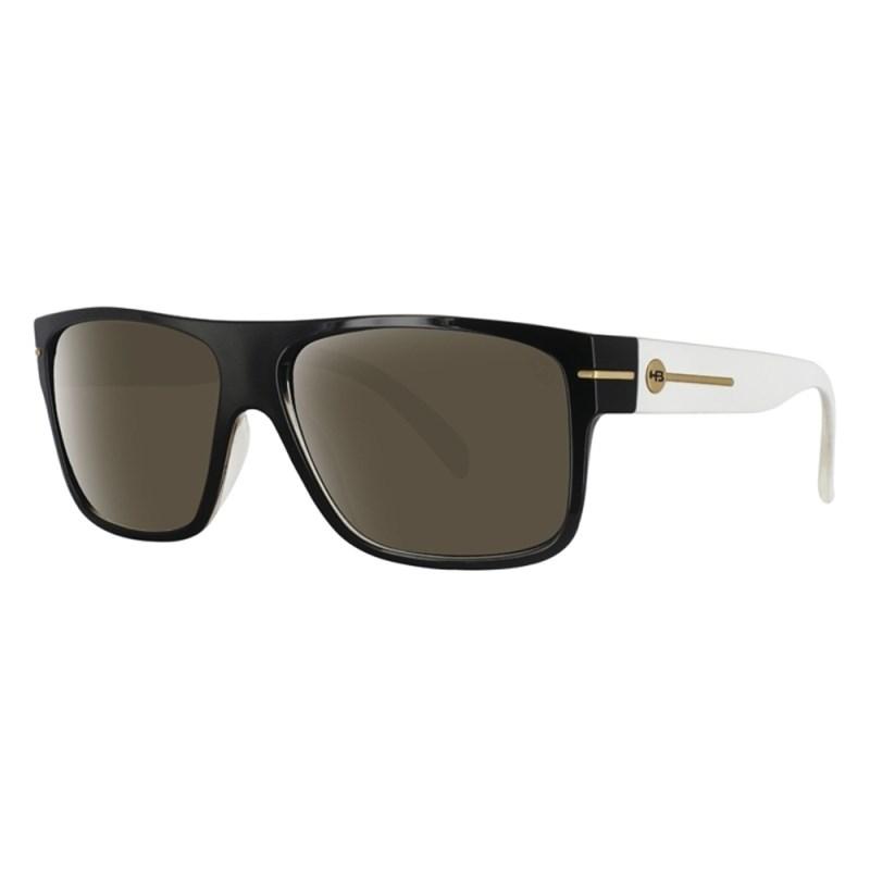 Óculos de Sol HB Would Preto Branco - Back Wash 6ef8faba68c