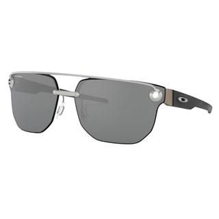 Óculos de Sol Oakley Chrystl Satin Chrome Prizm Black