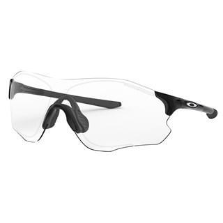 Óculos de Sol Oakley EVZero Path Polished Black Clear Black Iridium