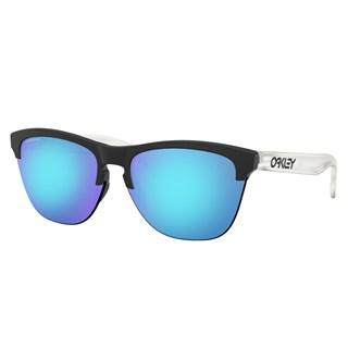 Óculos de Sol Oakley Frogskins Lite Matte Black Prizm Sapphire Iridium
