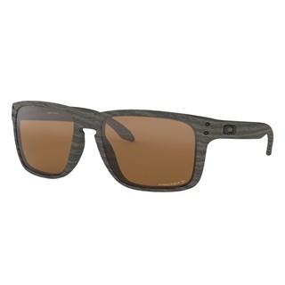 Óculos de Sol Oakley Holbrook XL Woodgrain Prizm Tungsten Polarized