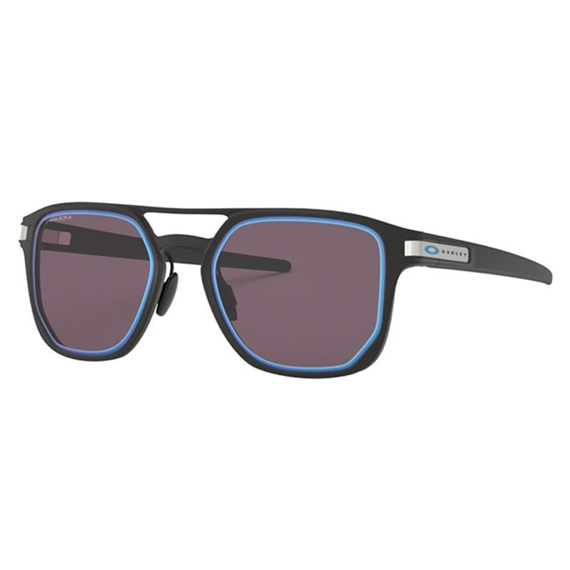 Óculos de Sol Oakley Latch Alpha Matte Black/Prizm Grey Sapphire Iridium