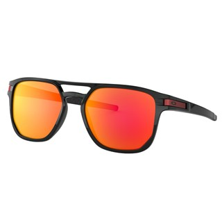 Óculos de Sol Oakley Latch Beta Polished Black Prizm Ruby