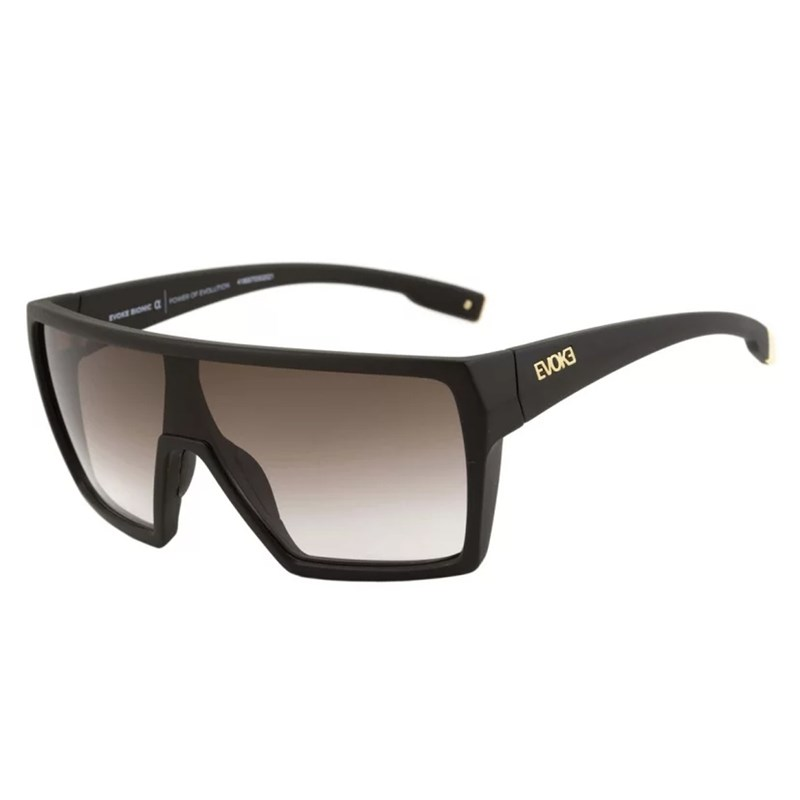 72ca9680d Óculos Evoke Bionic Alfa A13 Black Matte Gold - BackWash