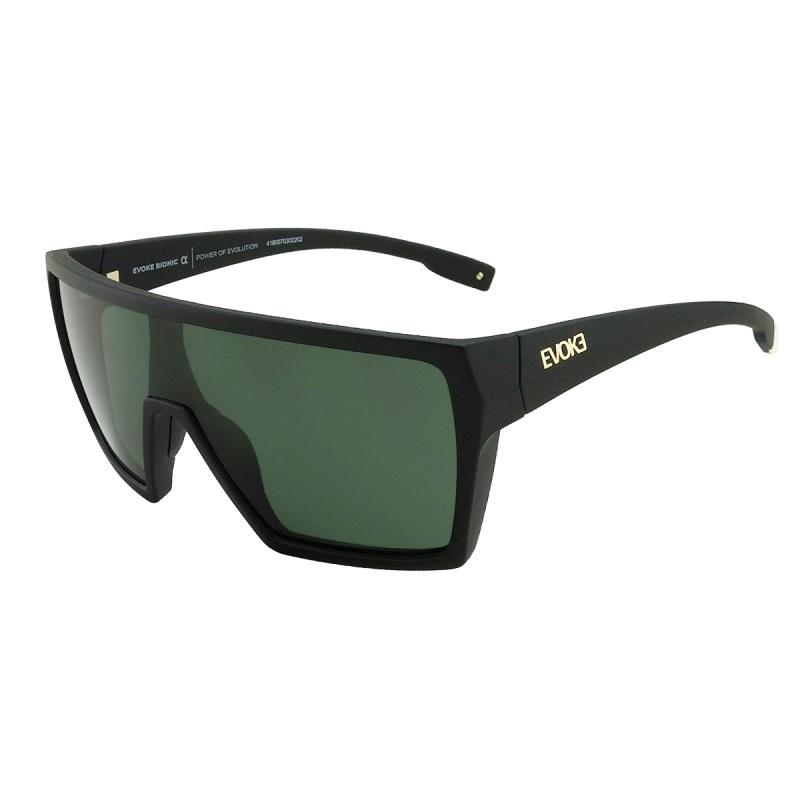 Óculos Evoke Bionic Alfa Black Matte / G15