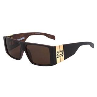 Óculos Evoke Bomber Black Wood Matte Black