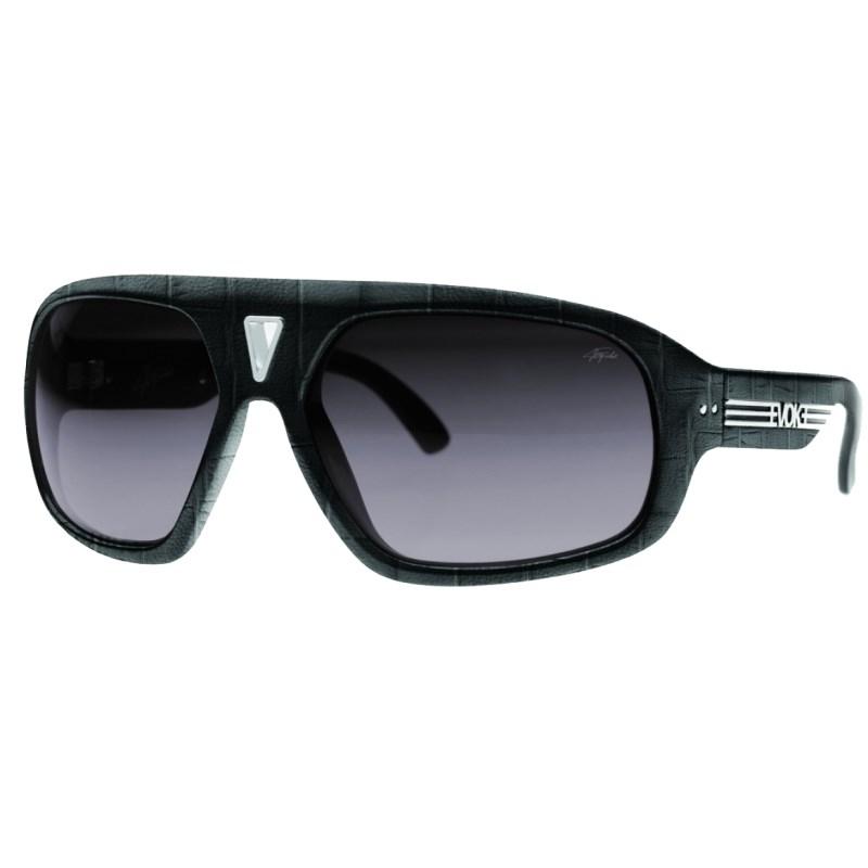 39008c87c Óculos Evoke Emerson Fittipaldi Preto em Couro - Back Wash