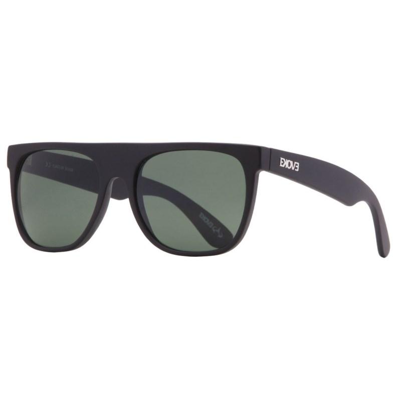 Óculos Evoke Haze Black Matte Green Total - Back Wash 3e65373635