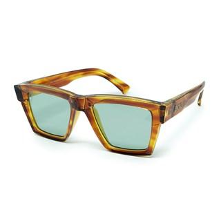 Óculos Evoke Time Square G22 Havana Retro Gold Light / Green