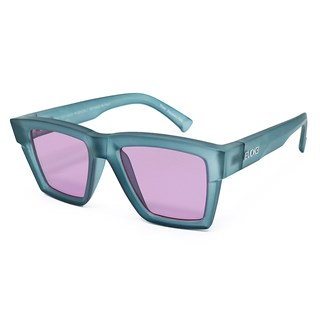 Óculos Evoke Time Square T02 Light Crystal Blue Silver / Ruby Total
